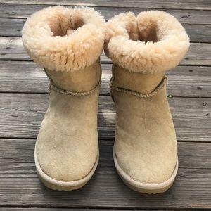 ⬇️Emu Australia Sheepskin Boots Tan Sz 9